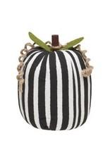 Collins Painting & Desgin Fabric Pumpkin BW Stripe Large