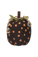 Collins Painting & Desgin Fabric Pumpkin Orange Dot Small