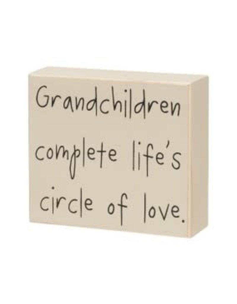Box Sign Grandchildren Complete