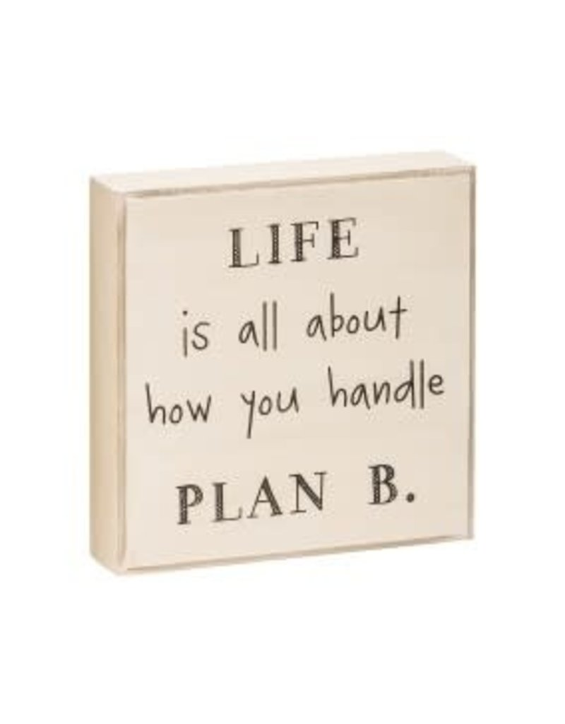 Box Sign Handle Plan B