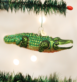 Old World Christmas Ornament Alligator