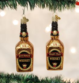 Old World Christmas Ornament Whiskey Bourbon