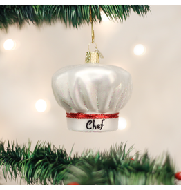 Old World Christmas Ornament Chef's Hat