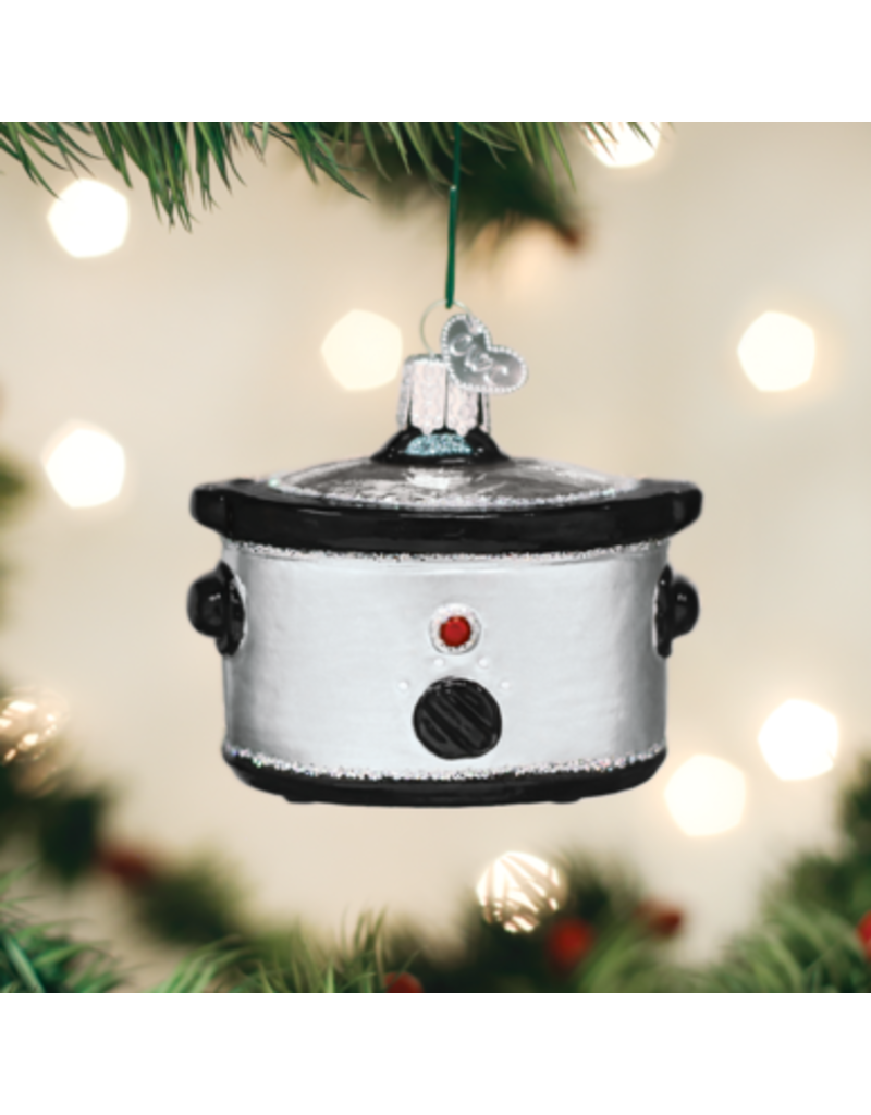 Old World Christmas Ornament Slow Cooker