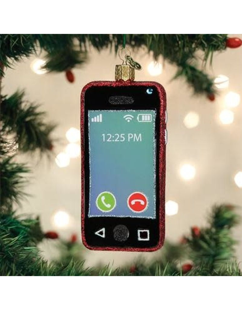 Old World Christmas Ornament Smartphone