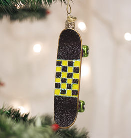Old World Christmas Ornament Skateboard