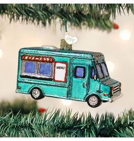 Old World Christmas Ornament Food Truck