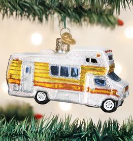 Old World Christmas Ornament Classic Motorhome
