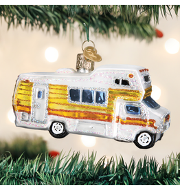 Old World Christmas Ornament Classic Motorhome