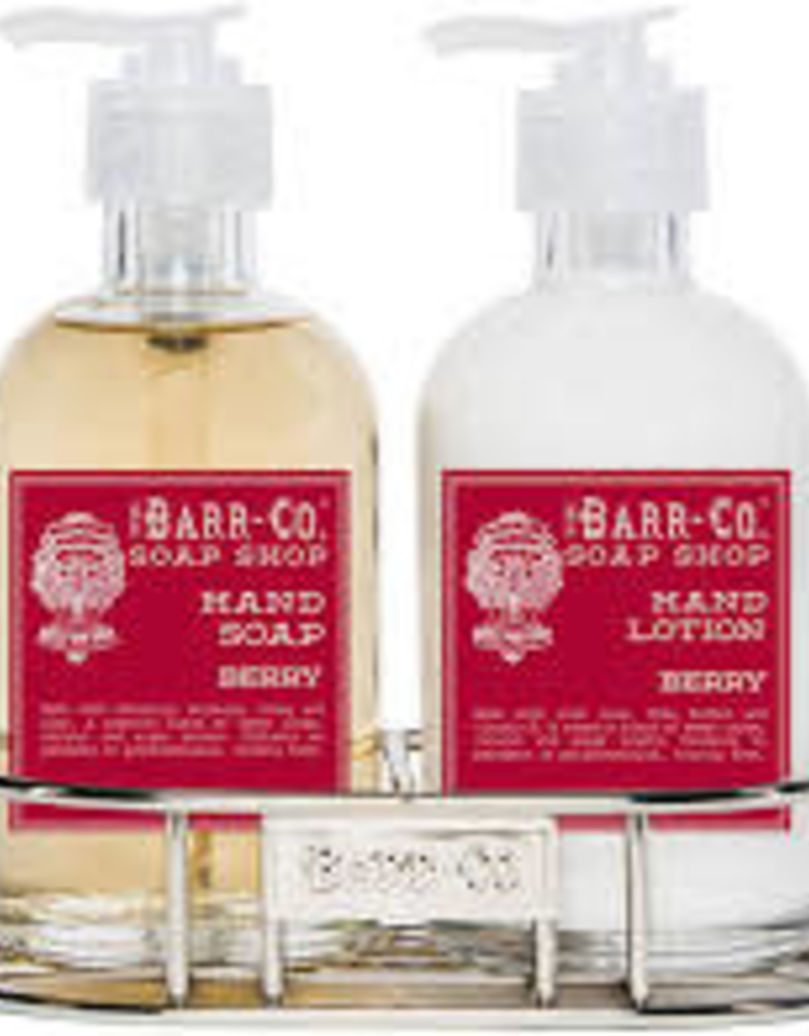Barr-Co. Barr-Co. Lotion/Soap Caddy Duo Berry
