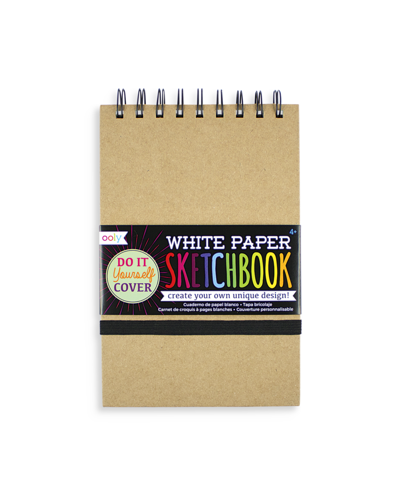 DIY Cover Sketchbook White Small