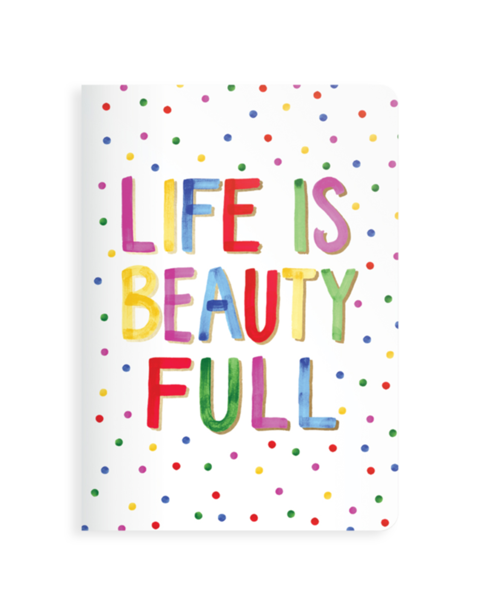 Ooly Jot It Notebook Life is Beautiful