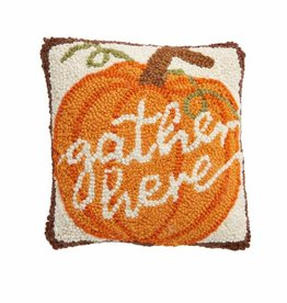 Thanksgiving Mini Hook Pillow Pumpkin
