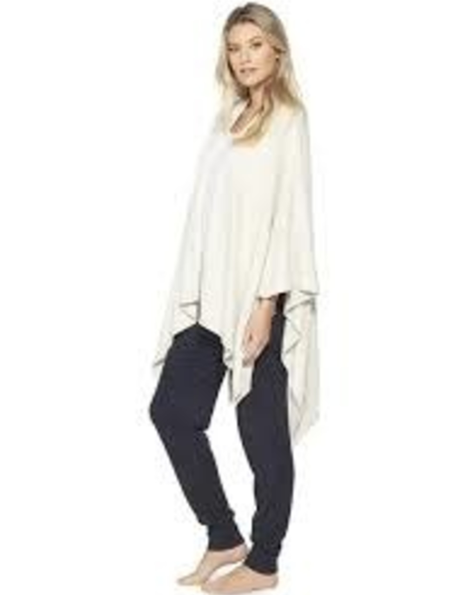 Barefoot Dreams Barefoot Dreams Cozy Chic light Heathered Stone Pearl Weekend Wrap
