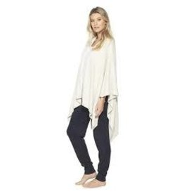 Barefoot Dreams Barefoot Dreams Cozy Chic light Heathered  Pearl Weekend Wrap Stone
