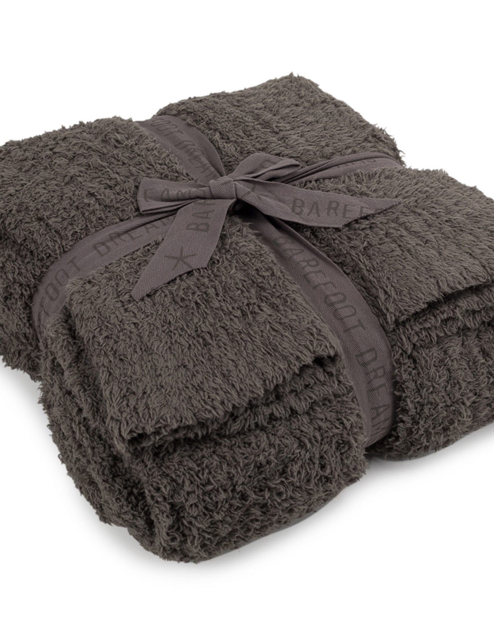 Barefoot Dreams Barefoot Dreams Cozychic Ribbed Throw Blanket Charcoal