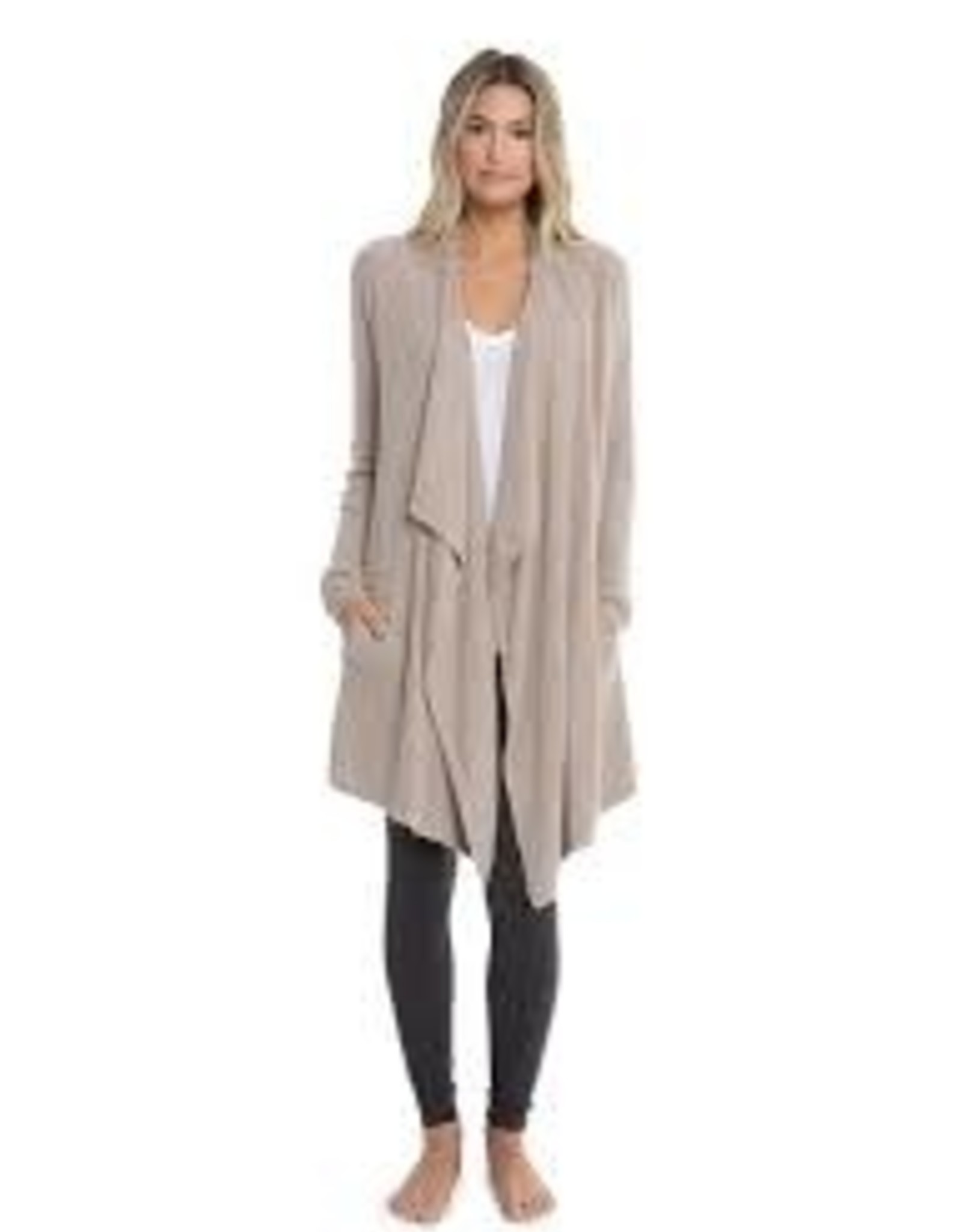 Barefoot Dreams Barefoot Dreams CozyChic Lite Island Wrap Taupe S-M