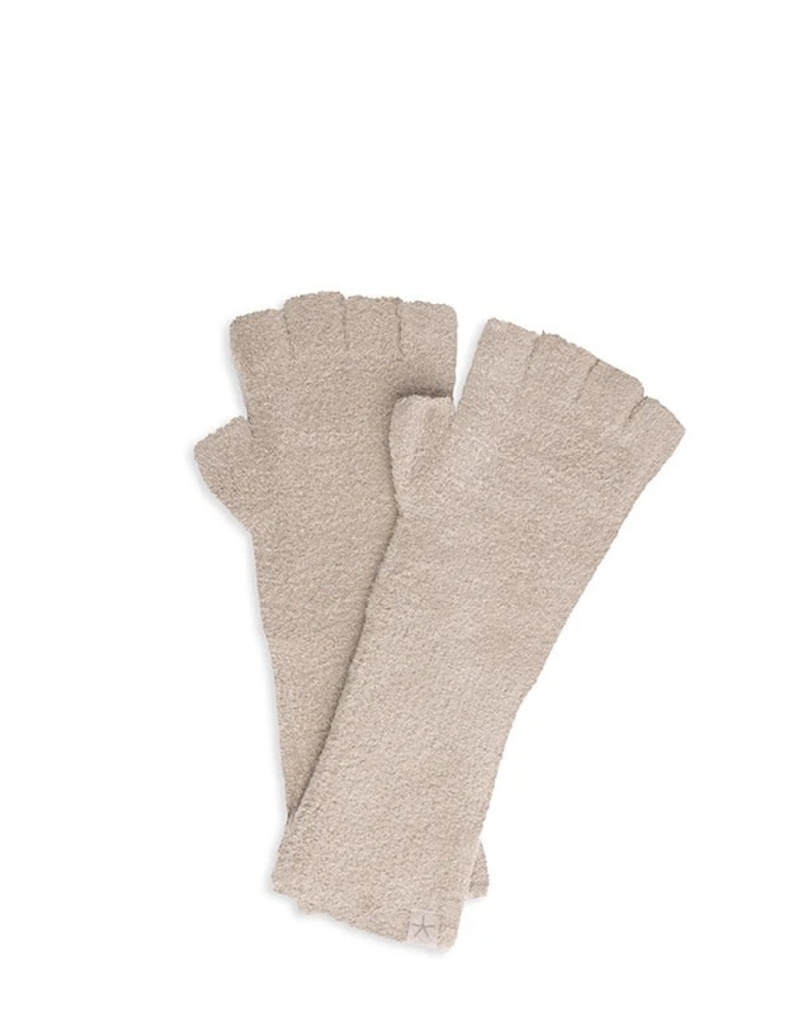 Barefoot Dreams Barefoot Dreams Cozychic Lite Fingerless Gloves Taupe