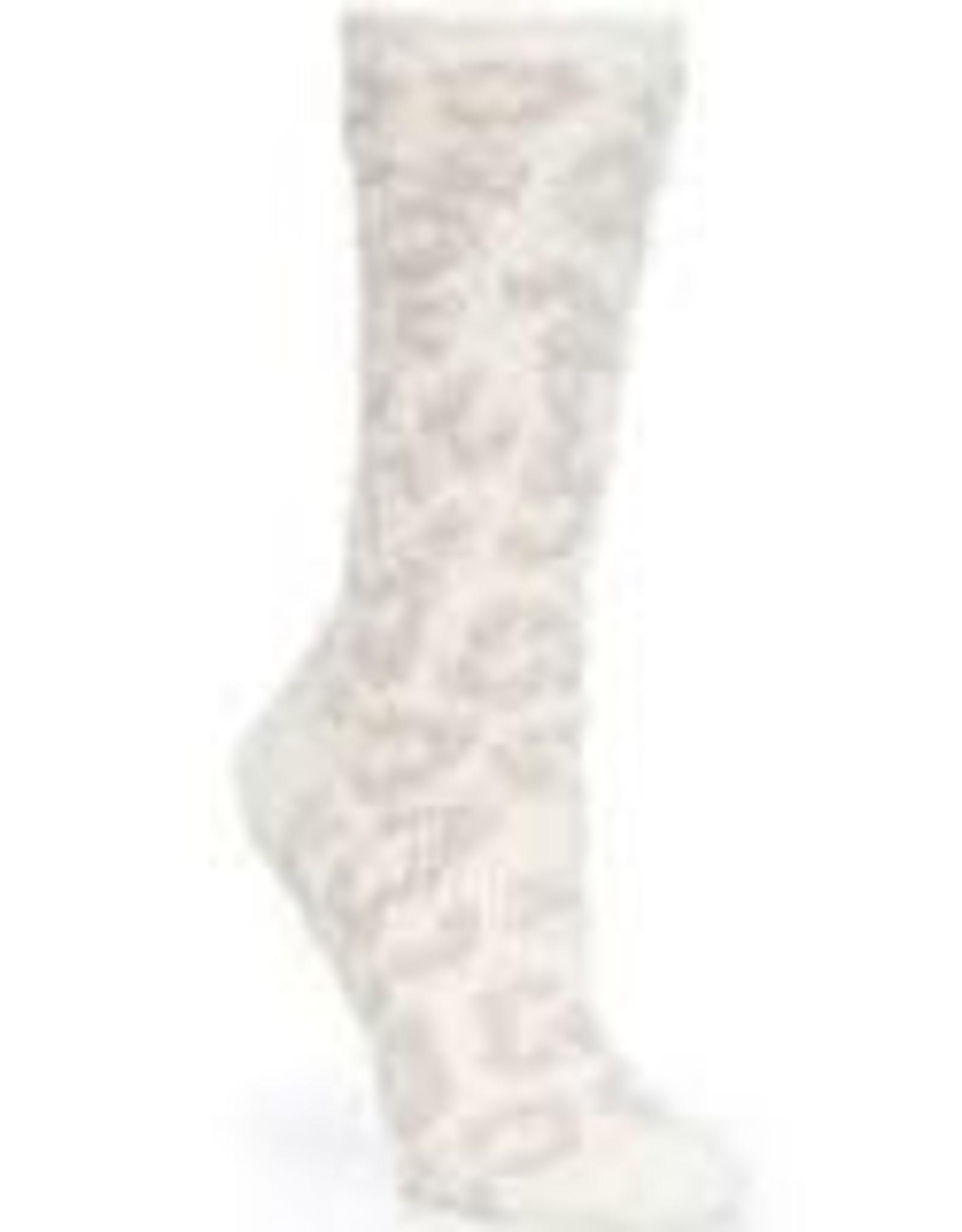 Barefoot Dreams Barefoot Dreams Cozychic BITW Socks Cream/Stone