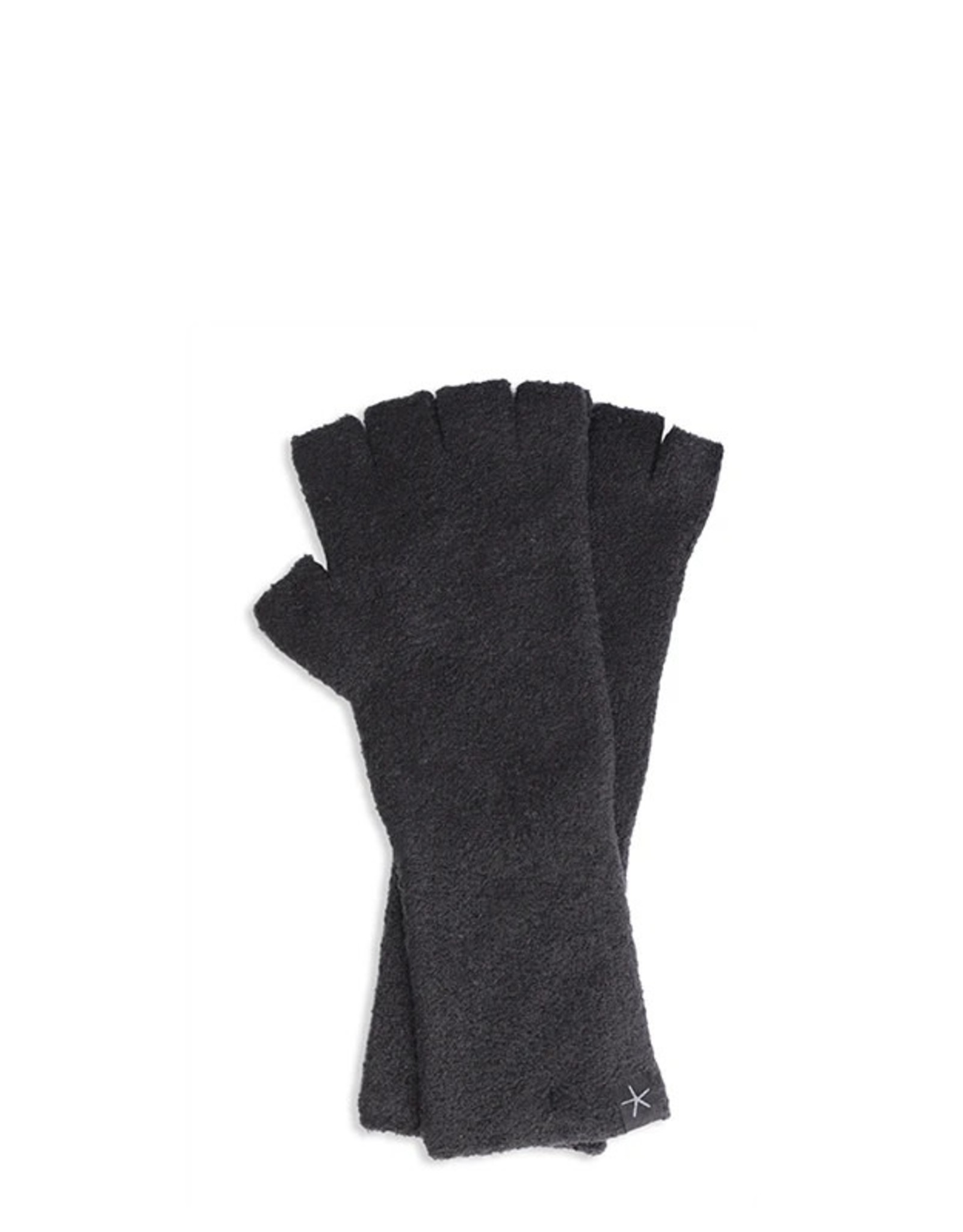 Barefoot Dreams Barefoot Dreams Cozychic Lite Fingerless Gloves Black