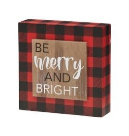 Collins Painting & Desgin Holiday Be Merry RB Box Sign
