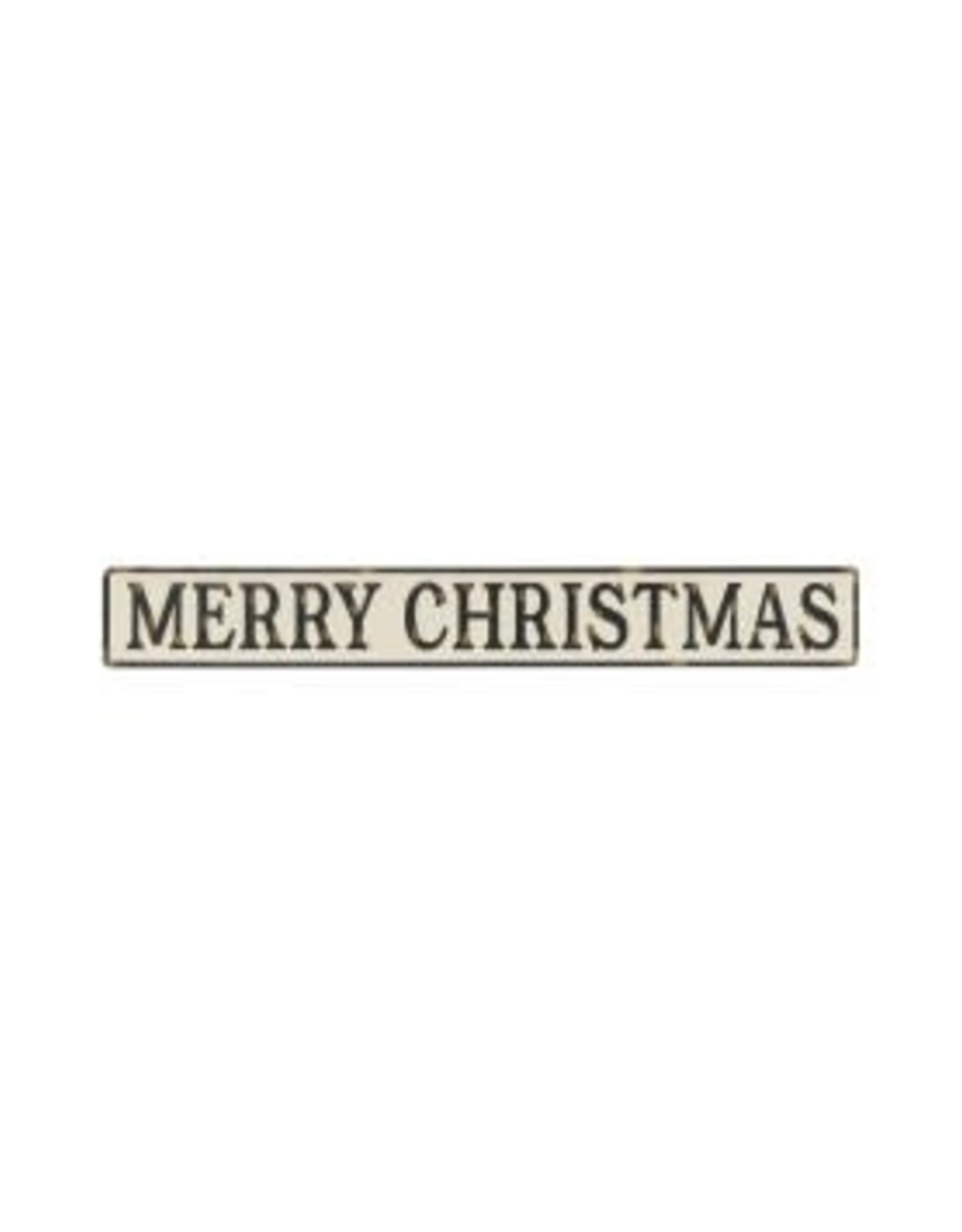 Collins Painting & Desgin Holiday Embossed Sign Merry Christmas