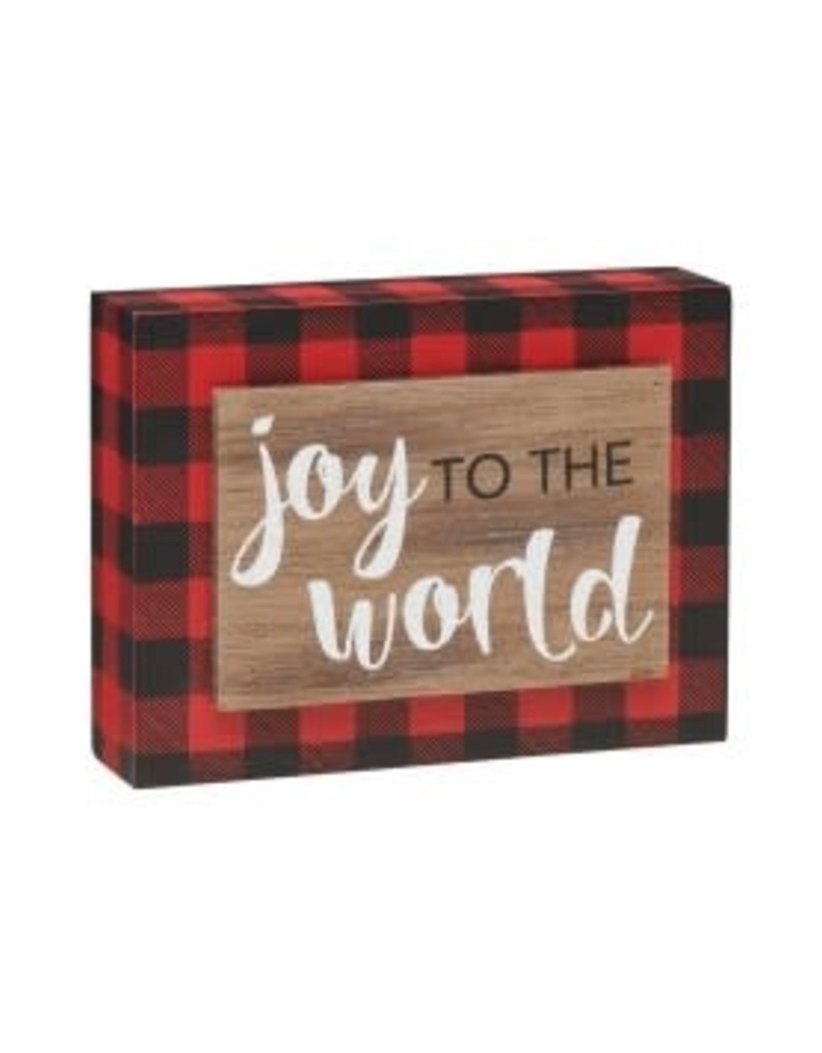 Collins Painting & Desgin Holiday Joy 3D RB Box Sign