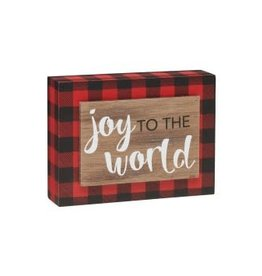 Holiday Joy 3D RB Box Sign
