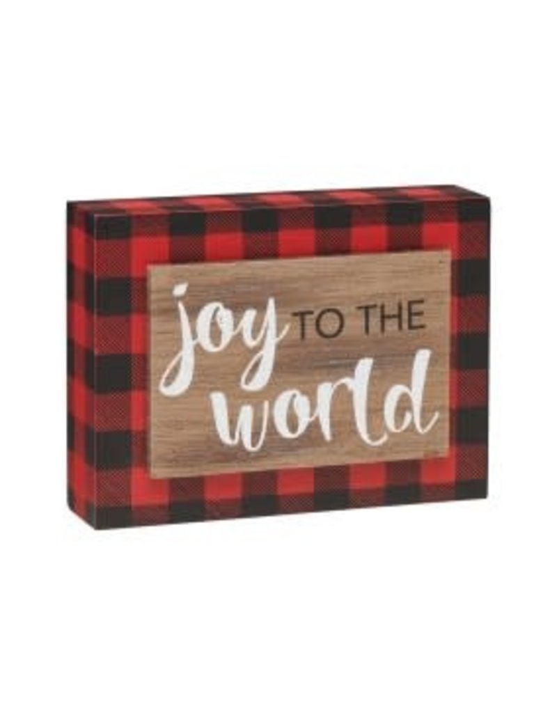Holiday Joy 3D RB Box Sign