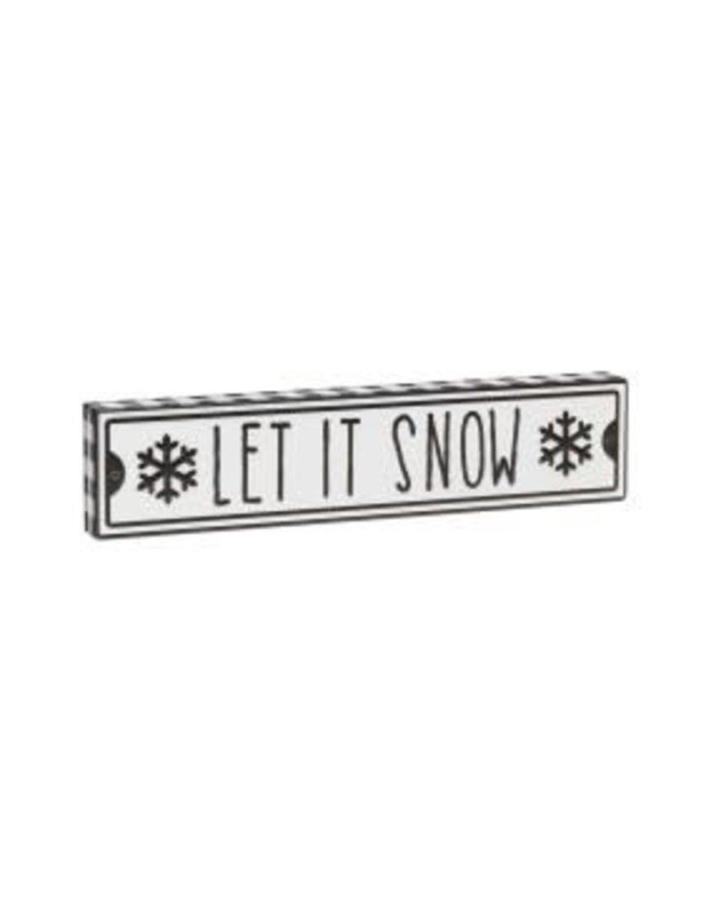 Let it Snow Street Box Sign