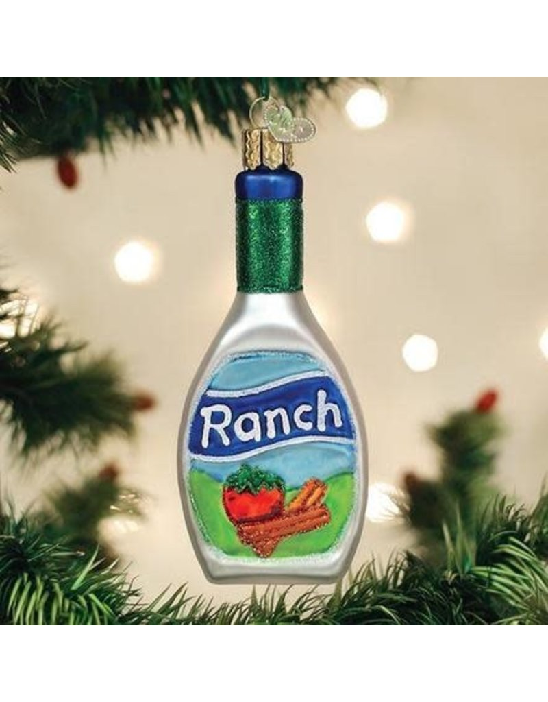 Old World Christmas Ornament Ranch Dressing