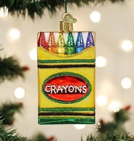 Old World Christmas Ornament Box of Crayons