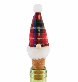 Gnome Bottle Topper Red Hat