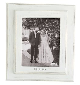 Mud Pie Mr. and Mrs. Frame 8x10
