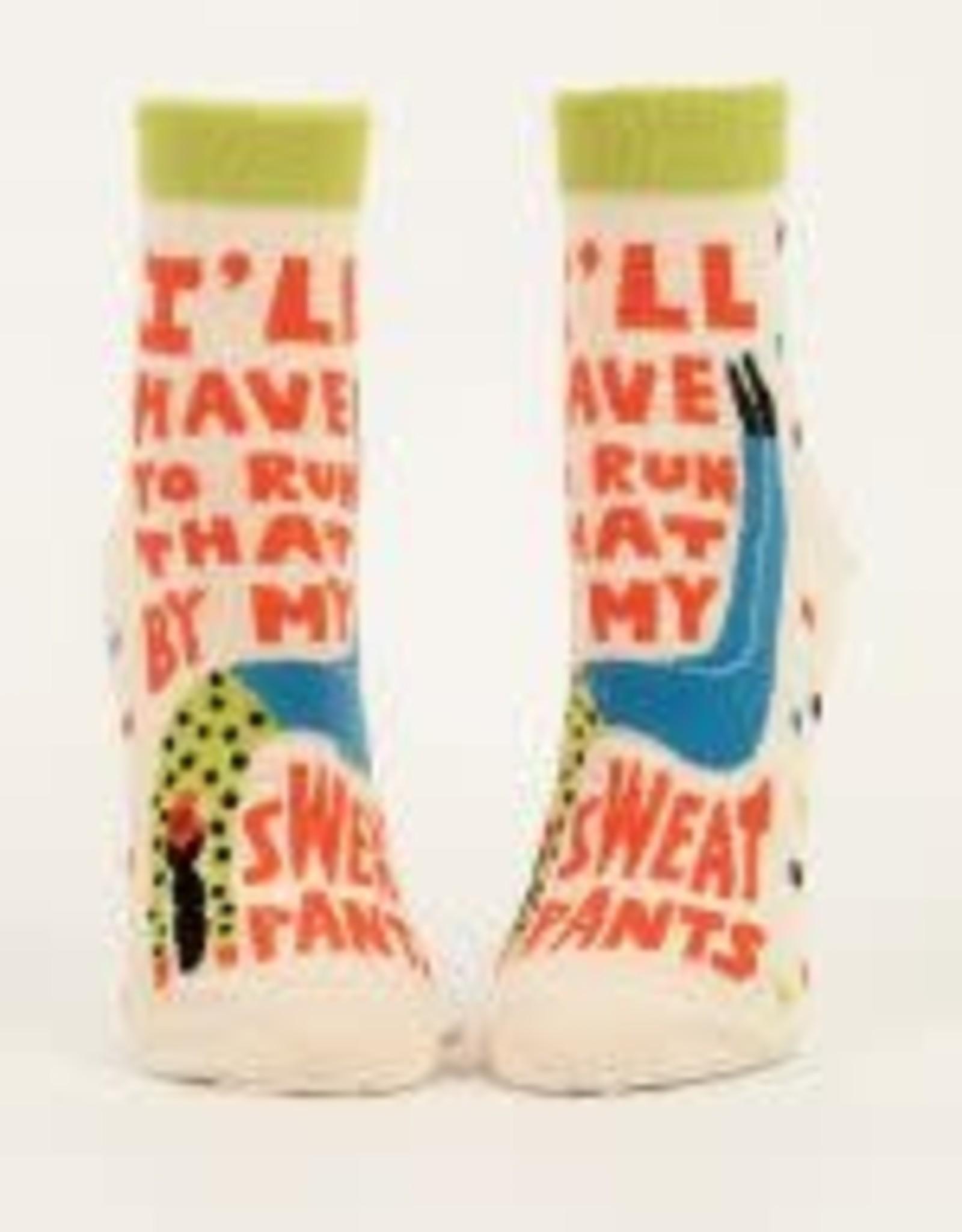 Blue Q Blue Q Women's Ankle Socks My Sweatpants