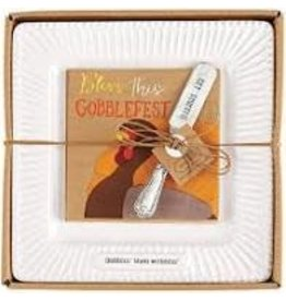 Thanksgiving Cheese Set Gobblin