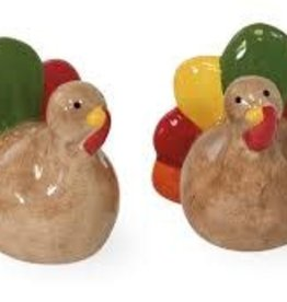 IHR Boston International Turkey Tail Salt & Pepper Set