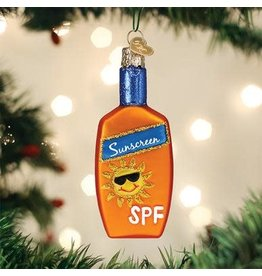 Old World Christmas Ornament Sunscreen