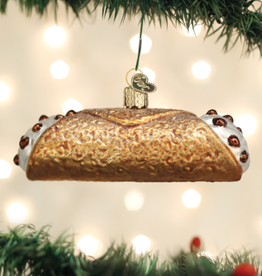 Old World Christmas Ornament Cannoli