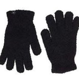 Barefoot Dreams Cozychic Gloves Black