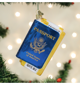 Old World Christmas Ornament Passport