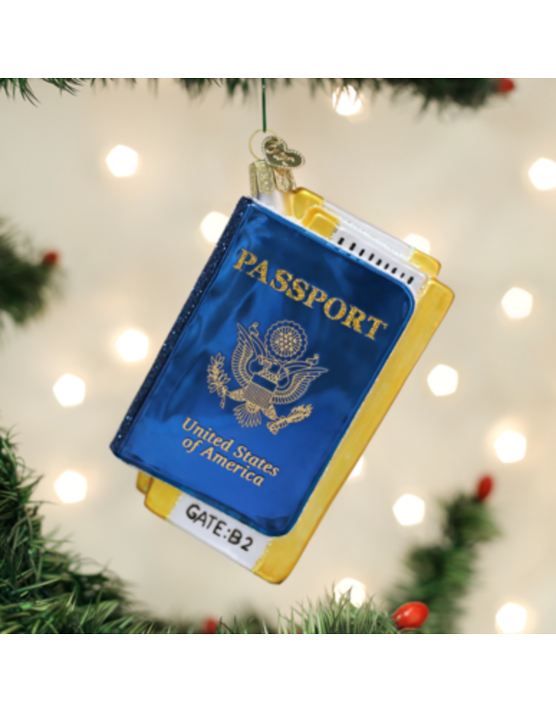 Old World Christmas Ornament Passport