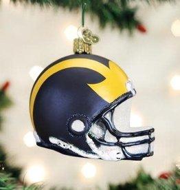 Old World Christmas Ornament UM Helmet