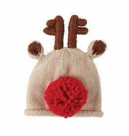 Mud Pie Holiday Reindeer Hat Boy