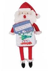 Holiday Santa Plush Book