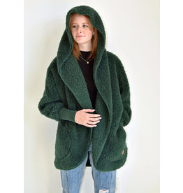 Nordic Beach Nordic Beach Cozy Cardigan Emerald Forest
