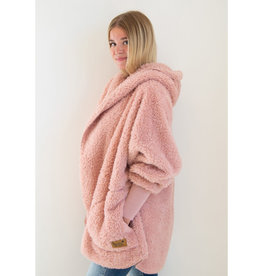 Nordic Beach Nordic Beach Cozy Cardigan Blush Wine