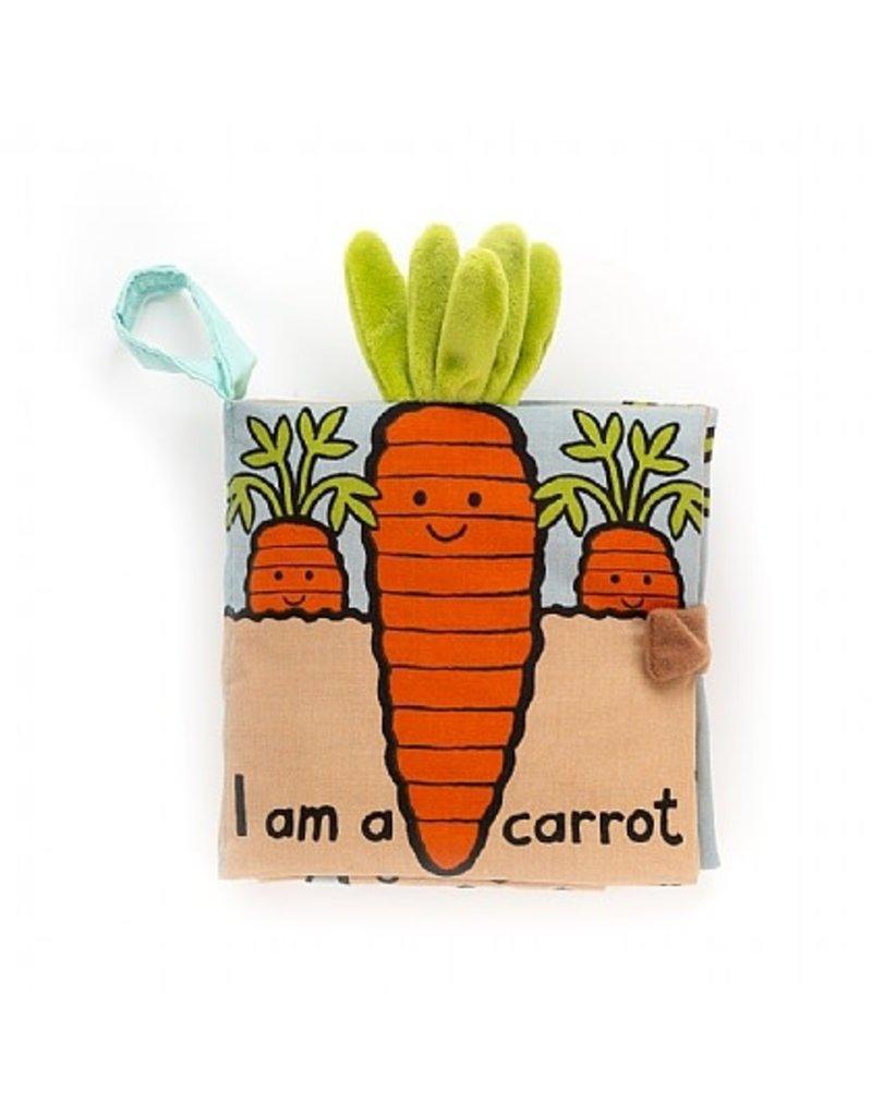 Jellycat Fabric Book- I am Carrot