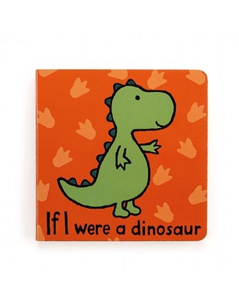 Jellycat Book- If I Were a Dinosaur