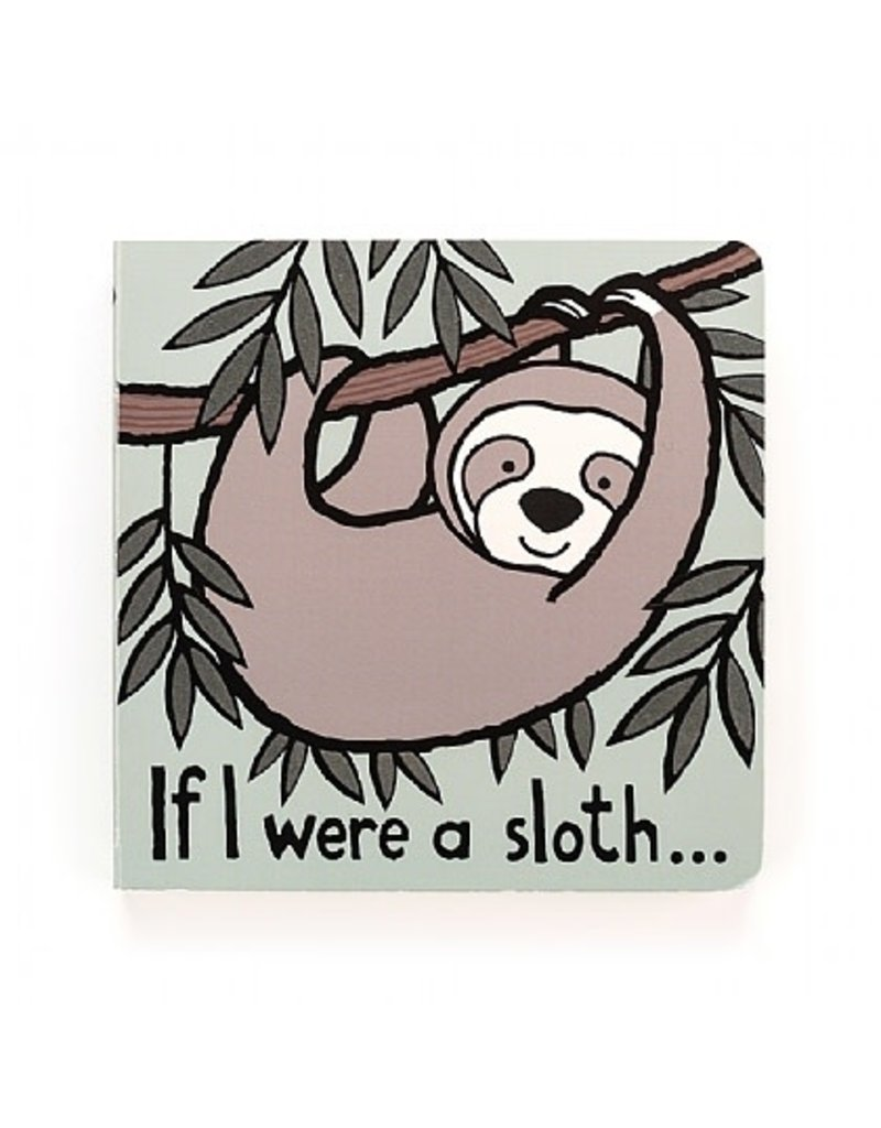 Jellycat Book- If I Were a Sloth